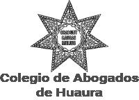 Logo colegio de abogados de Huaura